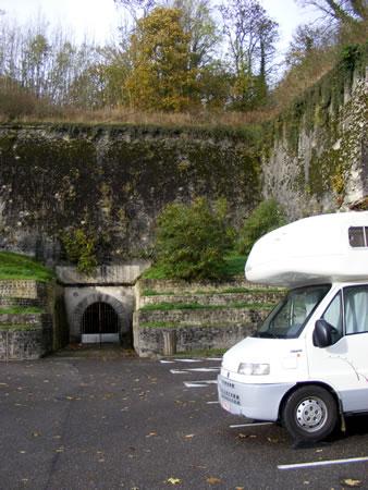 Verdun Citadel Parking