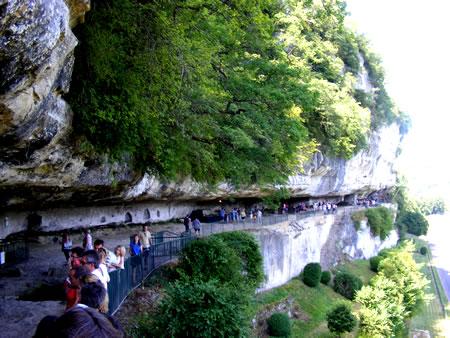 La roque St-Christophe