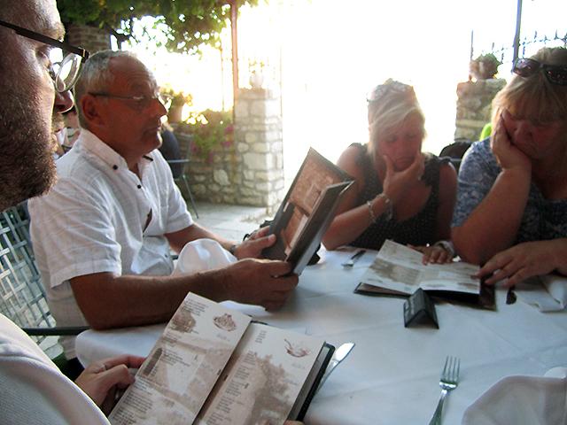Konoba Branimir, opgedirkt voor het verjaardagsdiner (Nin)