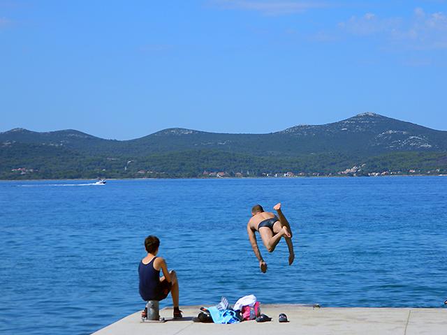 Bakken en braden bij de Ardiatische Zee (Zadar)