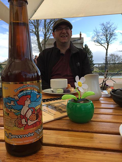 Briare le Canal: bier uit Sancerre en bloemen uit Wijgmaal