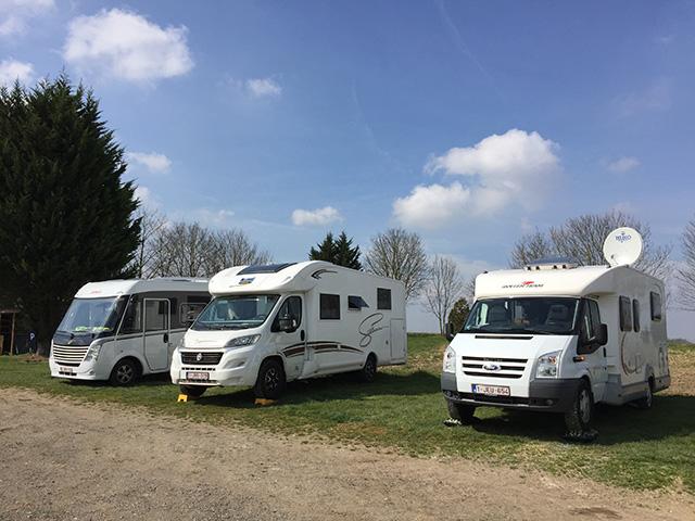 Picquigny: boerencamping voor de durvers