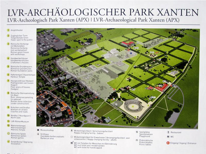APX: Archeologisch Park Xanten.