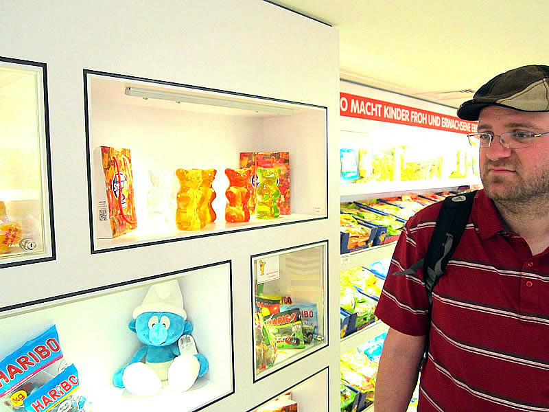 Bonn: HARIBO-store